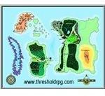 Map of the Threshold RPG World