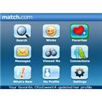 Match.com Dating App For the Blackberry -pic