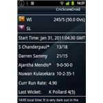 CricScoreDroid - Live Scorecard