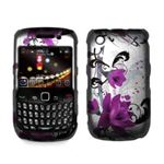 Premium 2D Silver and Purple Snap on Hard Case