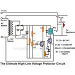 The Ultimate High and Low Voltage Protector Circuit, Image