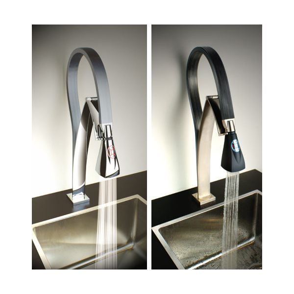 6 cool kitchen faucets the best hi tech kitchen faucets Designer kitchen faucets