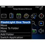 Flashlight onetouch - flashlight app for blackberry -pic