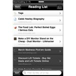 Read it later reading list