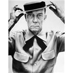 Buster Keaton by Richard Avedon