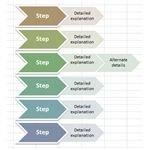 Procedure Flow Chart Excel