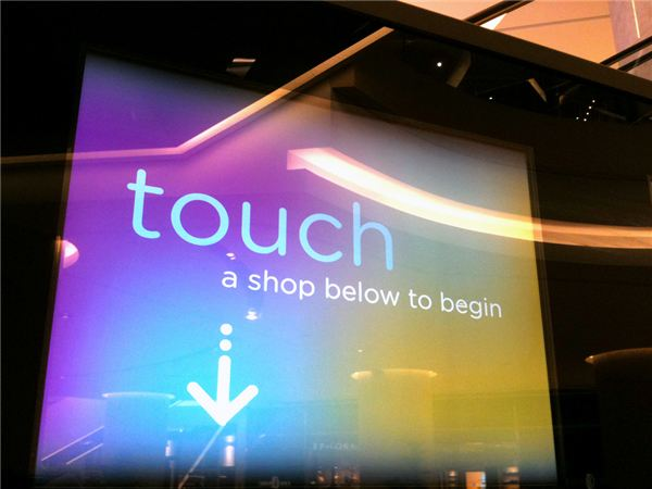 Future Touch Screen