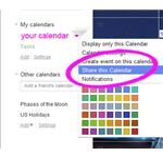Sharing Google Calendars