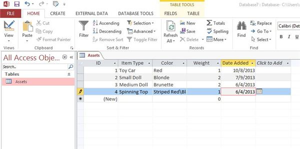 Add records to a table by using an append query