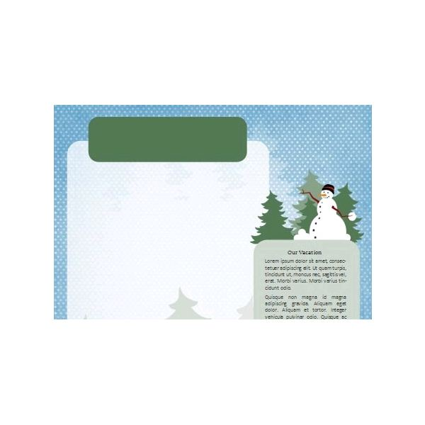 Free Winter Newsletter Templates: Download, Customize, and Use for ...