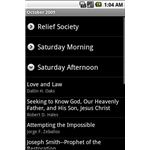 LDS General Conference Android App