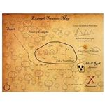 Treasure Map Brushes