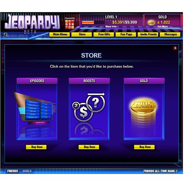 Examples Of Jeopardy Categories: T.V. Game Shows Come To Facebook