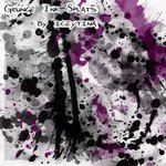 Grunge Ink Splats PSP8 Brushes by iceytina