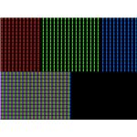 LCD pixels using RGB primary colors.