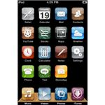 iTouch Home Theme