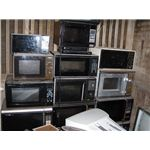 Various types of microwave ovens