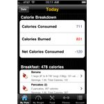 Calorie Tracker iPhone App