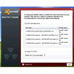 Avast Found Rootkit in XP system