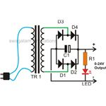 24 volt ac to dc 20 amp transformer connection diagram, image, picture