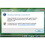 Microsoft Security Essentials Turn-off Windows Defender