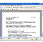OpenOffice Word Processor