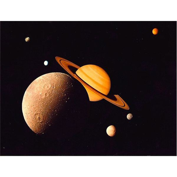 how much moons does saturn have - photo #40