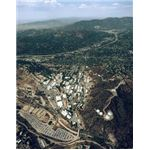 Jet Propulsion Lab (JPL) campus aerial view
