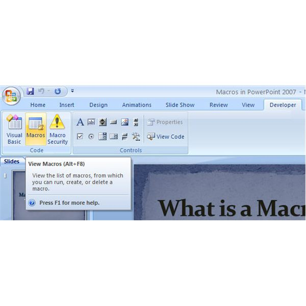 Can you Record a Macro in Access?