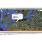 How does Google Maps work on other websites? By accessing the Google API, as demonstrated by AlertMap