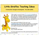 Little Giraffes