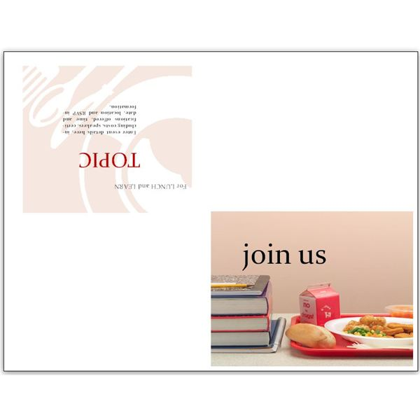 free business lunch and learn invitation forms options for ms, invitation samples
