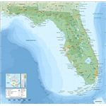 Florida topographic map-en