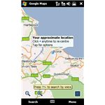 Google Maps Mobile top ten Windows Mobile 6 apps