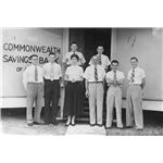 800px-StateLibQld 1 388853 Commomwealth Bank employees, Tully, ca. 1950