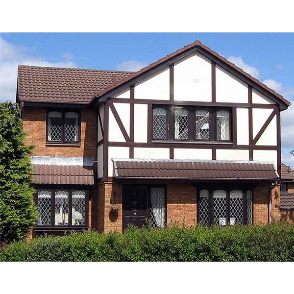 About tudorbethan architecture subset of tudor revival for Modern house characteristics