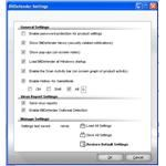 Click Advanced to dig deeper into the more complex configuration settings