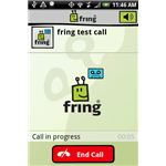 fring test call