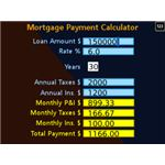 Looks Great – Mortgage Payment Calculator Blackberry App-pic
