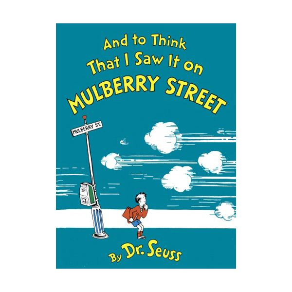 And To Think I Saw It On Mulberry Street Writing Activity