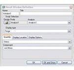 result window defination dialogue box