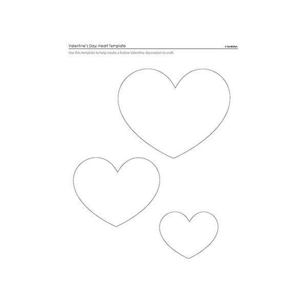 10 Cute Valentine Heart Templates & Patterns For Digital