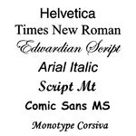 typefaces,typography design