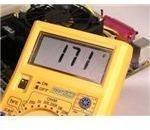 Temperature reading on multimeter