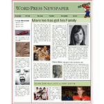 Word Press Newspaper