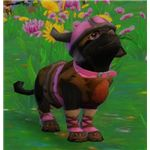 Pink Viking Kitty