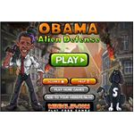 free obama alien defense game, free obama game online