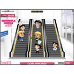 Love On The Escalator is one of the easiest romance simulation games to play.