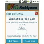 gasbuddy tickets drawing