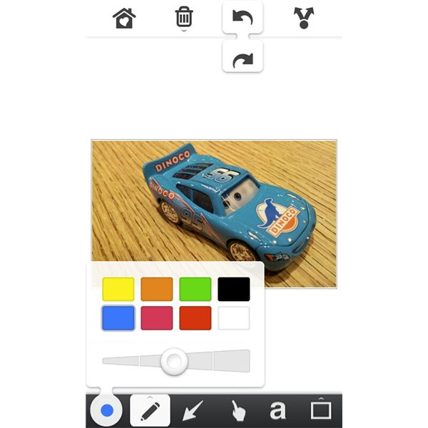 skitch android app review draw on your photos